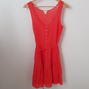 100% cotton coral J.Crew dress!